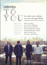"NEWS: Battleships ""To You"" Tour"